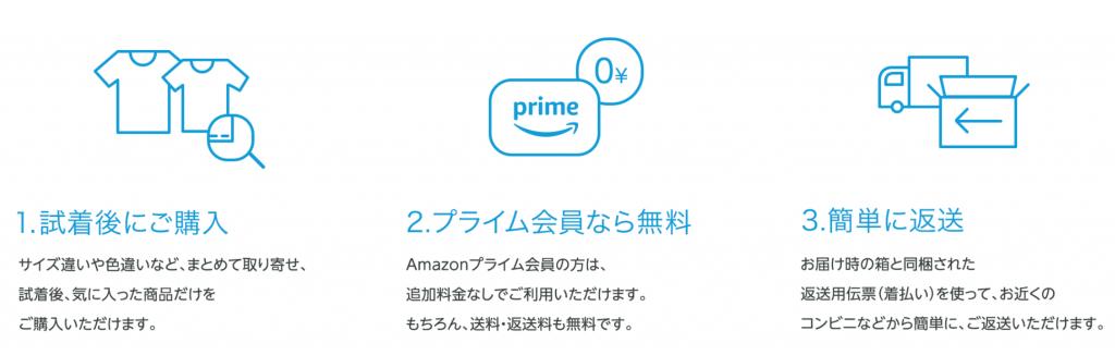 アマゾン・プライムワードローブ